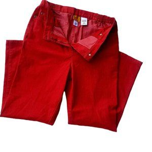 Ruby Rd. Red Jeans Sz 12
